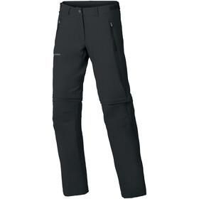 VAUDE Farley Stretch Zip-Off T-Zip bukser Damer, sort